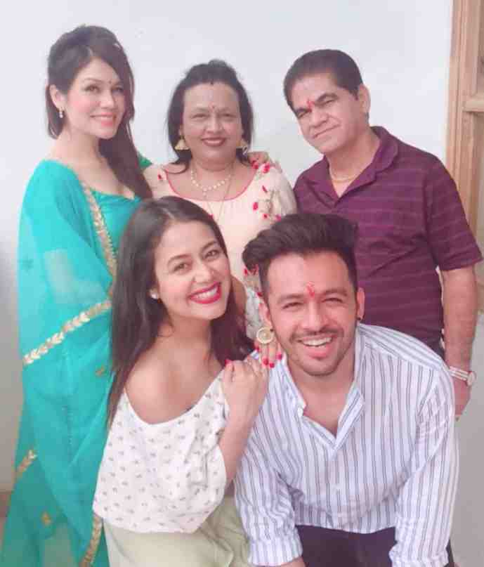 Neha Kakkar With family