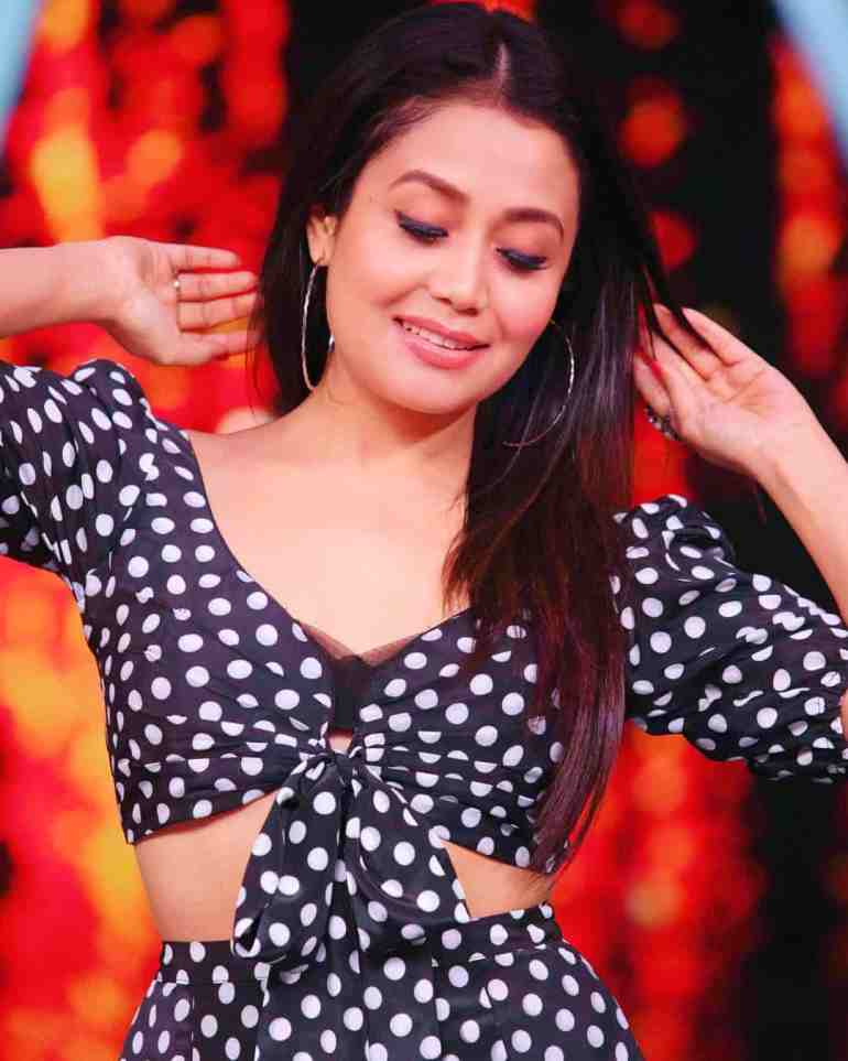 Neha Kakkar in Coca Cola