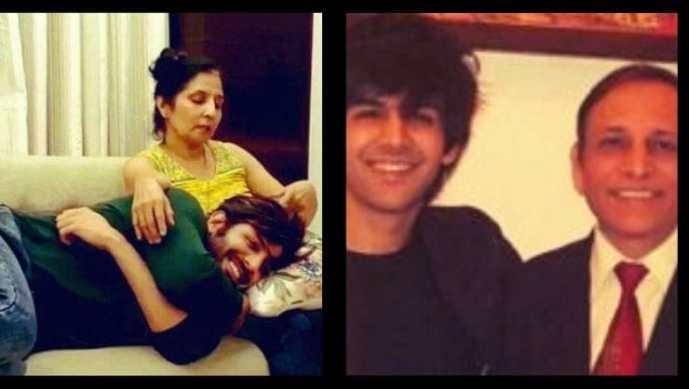 Kartik-Aaryan-Parents