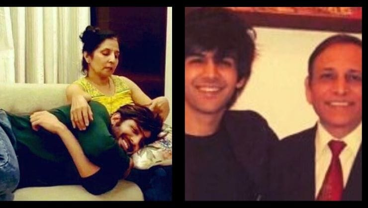 Kartik-Aaryan-Parents