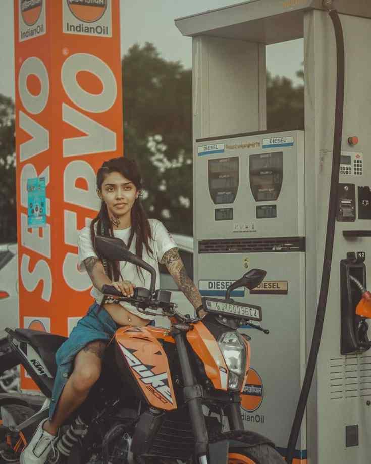 Wish Rathod Love sport Bike