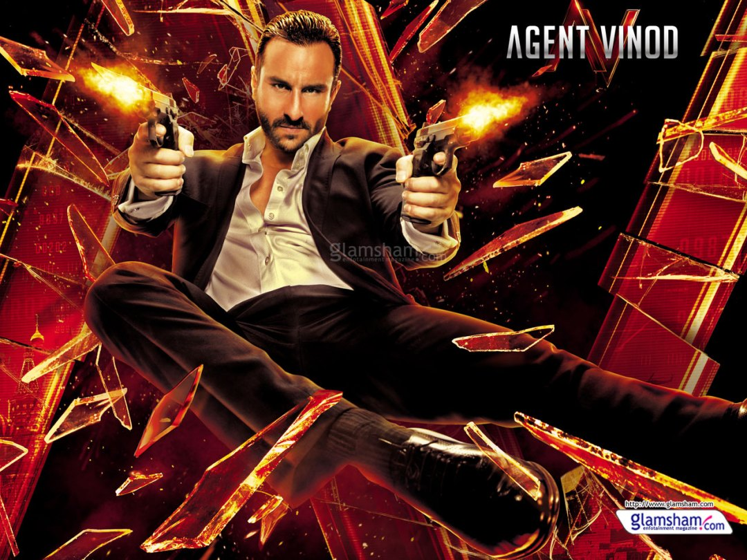 Agent Vinod poster is copied from Johnny English Reborn
