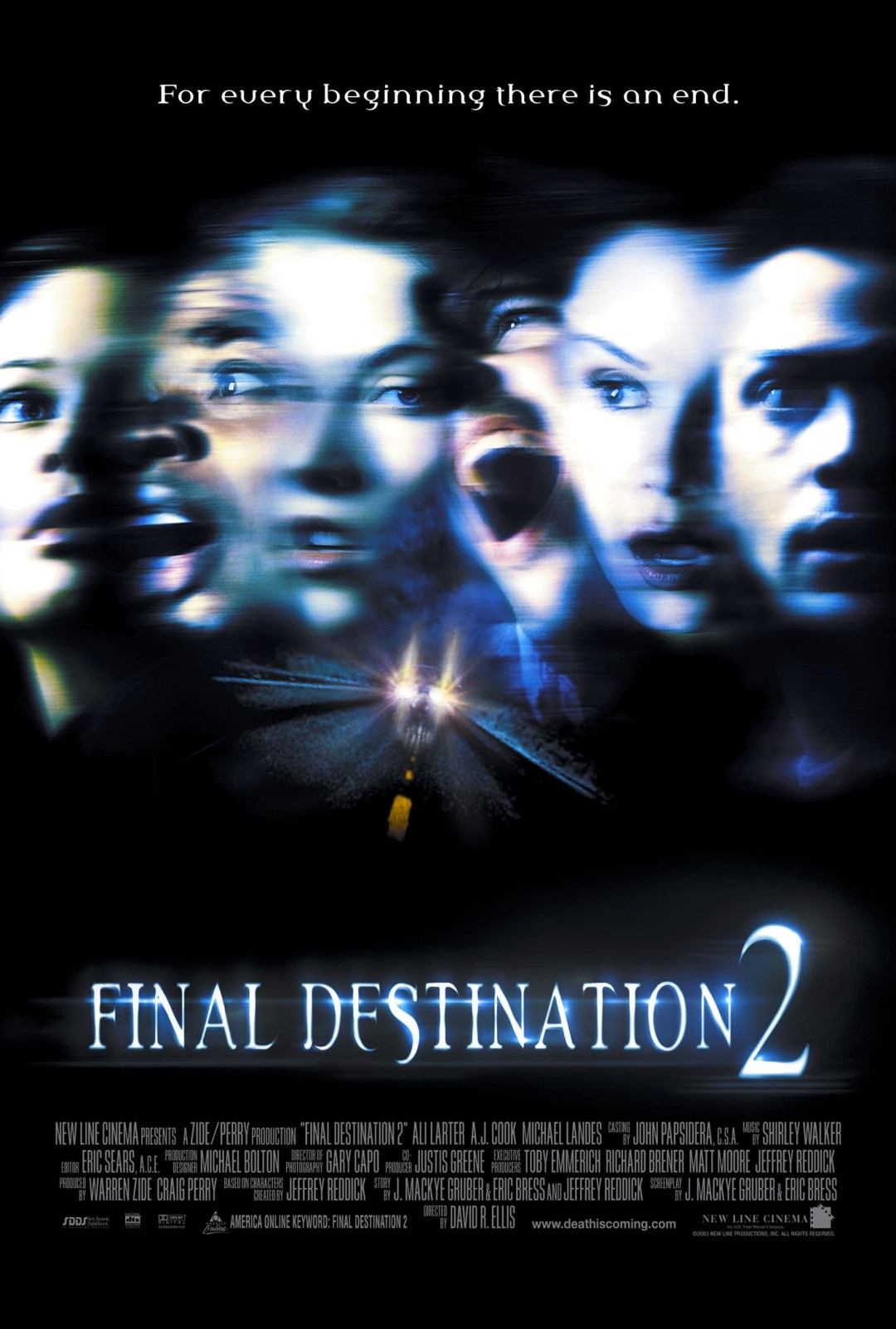 Final Destination 2  poster is copied by Bhoot