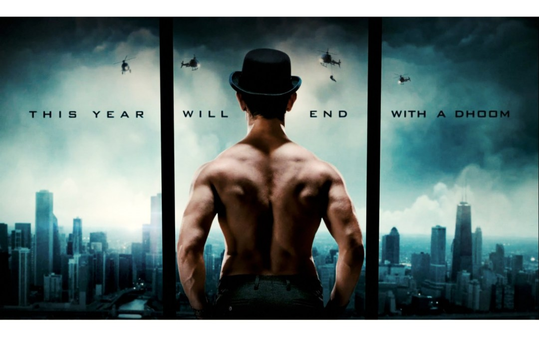 Dhoom 3 poster is copied from The Dark Knight