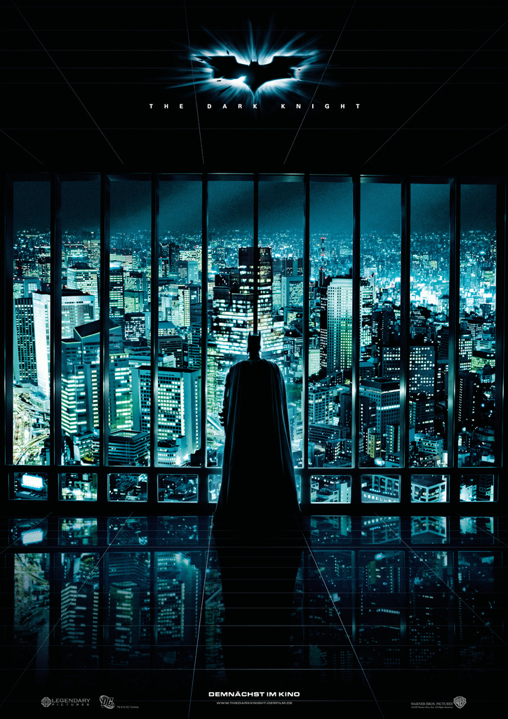 The Dark Knight  poster is copied by Dhoom 3