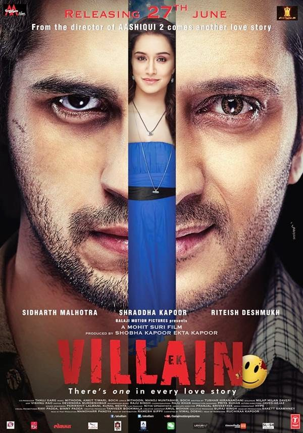Ek Vilain poster is copied from Face off