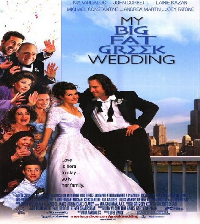 My big fat greek wedding  poster is copied by Hulchul