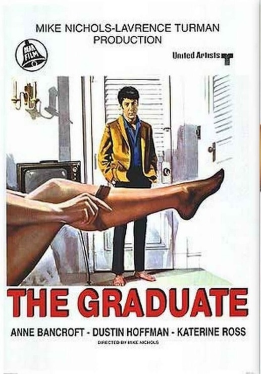 The Graduate  poster is copied by Aitraaz