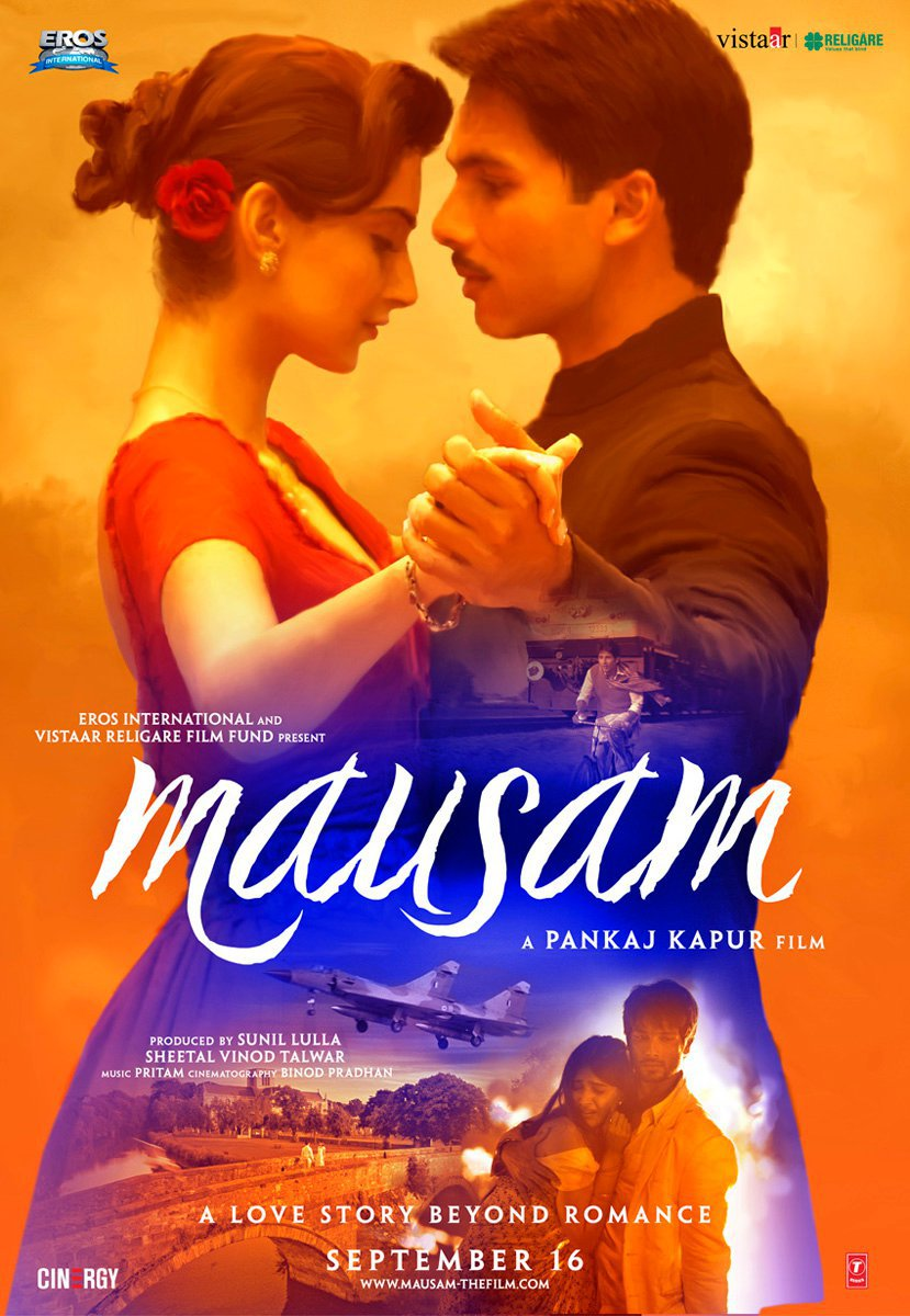 Mausam poster is copied from Titanic