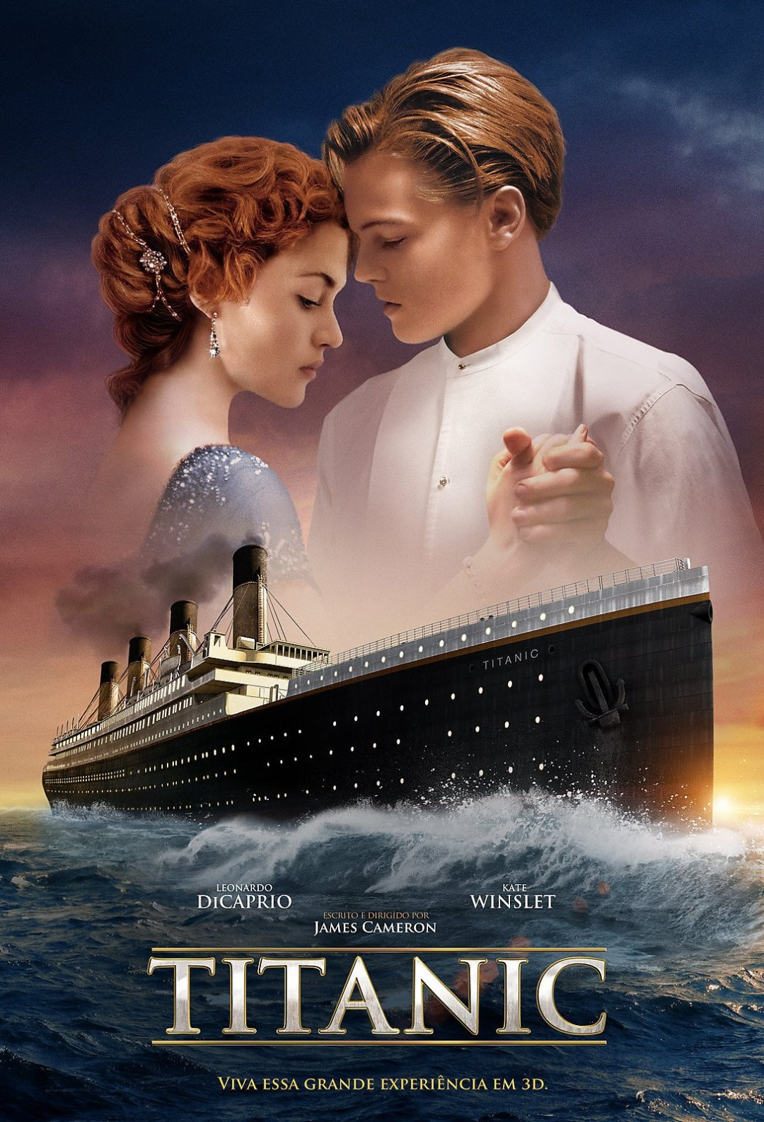 Titanic  poster is copied by Mausam