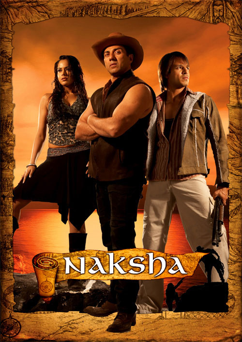 Naksha poster is copied from Sahara