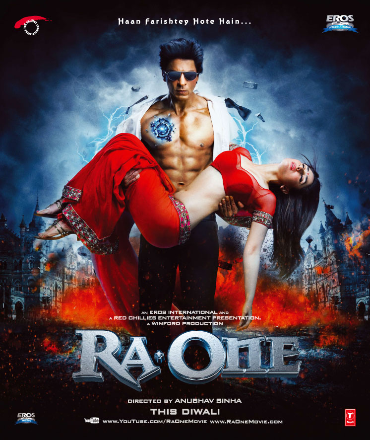 Ra One poster is copied from Batman Begins