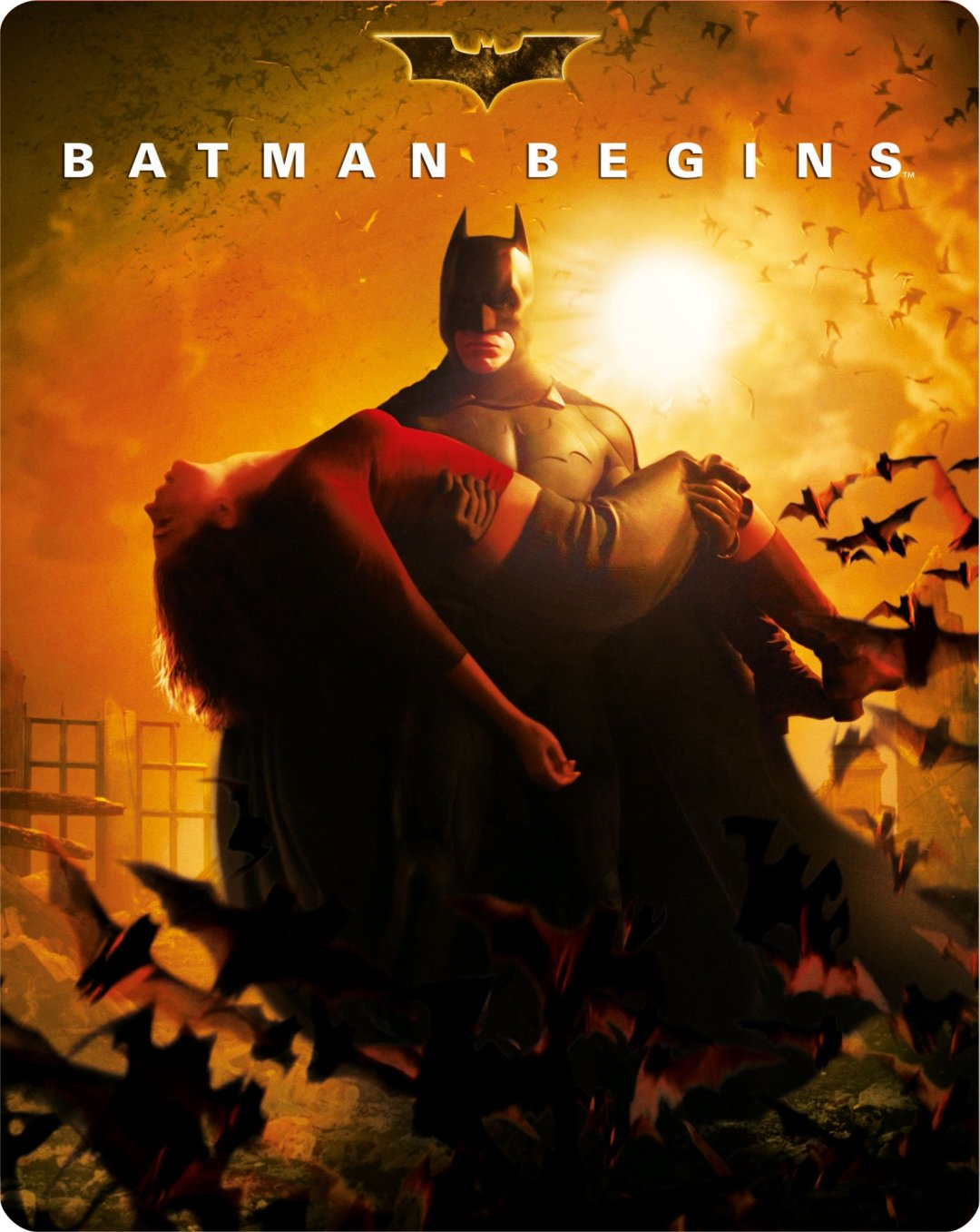 Batman Begins  poster is copied by Ra One