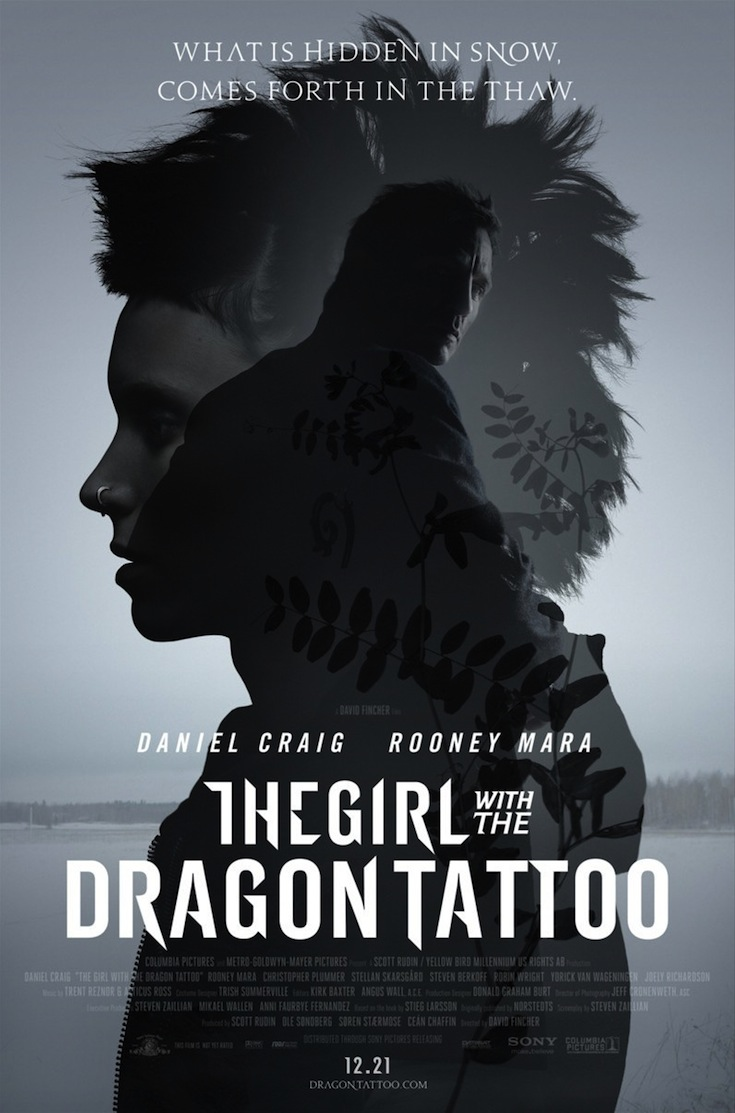 The Girl with the Dragon Tattoo  poster is copied by Rahasya