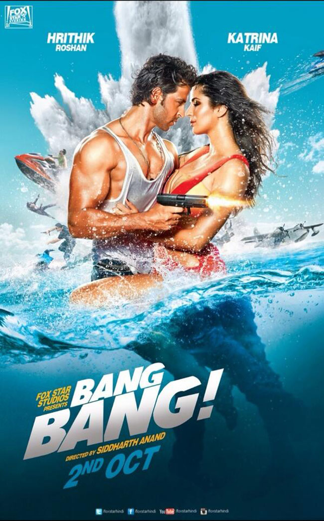 Bang Bang poster is copied from Knight and Day