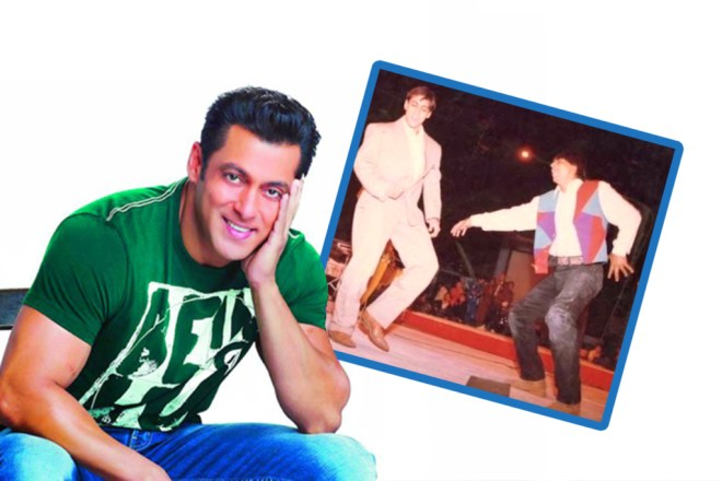 Salman khan has shahrukh and his photo saved in his phone