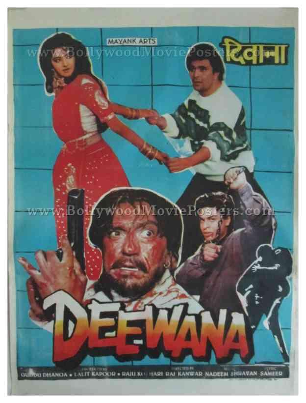 Image result for deewana poster