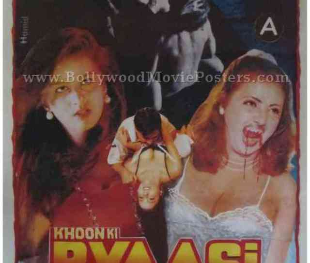 Khoon Ki Pyasi Daayan Indian Bollywood Adults Hindi Horror Movies Poster