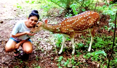 Mishti Chakraborty Animal Lover