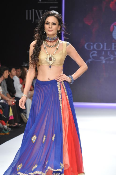 49 Models wearing an JASHN outfits at IIJW 2012