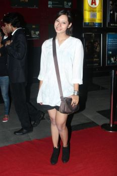Arika Silaichia at the Red Carpet of 'Love, Wrinkle-Free' premiere at PVR, Phoenix..