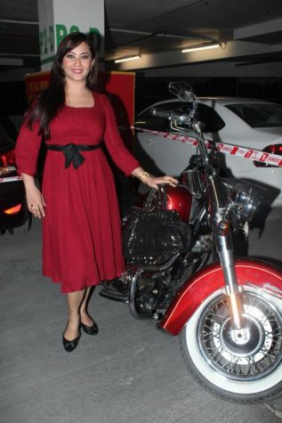 Nausheen Ali Sardar at the premiere of 'Love, Wrinkle-Free' at PVR, Phoenix