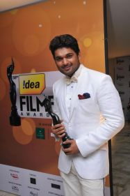 Ajmal Ameer received BEST ACTOR IN A SUPPORTING ROLE (MALE ) at '59th !dea Filmfare Awards 2011' (South) on 8th July at Jawaharlal Nehru indoor stad