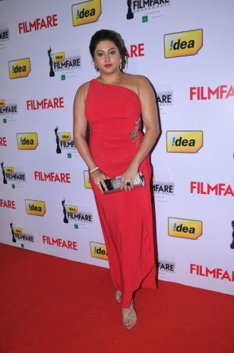 Nameetha at the Red Carpet of '59th !dea Filmfare Awards 2011' (South) on 8th July at Jawaharlal Nehru indoor stadium, Chennai.