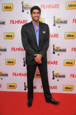 Rana Duggabatti at the Red Carpet of '59th !dea Filmfare Awards 2011' (South) on 8th July at Jawaharlal Nehru indoor stadium, Chennai.
