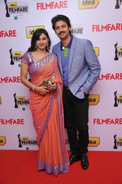 Srikanth at the Red Carpet of '59th !dea Filmfare Awards 2011' (South) on 8th July at Jawaharlal Nehru indoor stadium, Chennai.