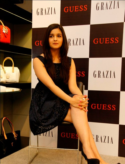 Alia Bhatt at Grazia Cover launch at Guess,,