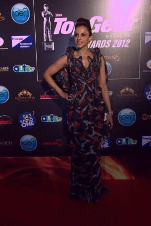 Mansi Scott at the TopGear Magazine India Awards 2012.