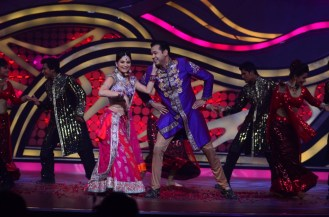 Rahul and Dimpy Mahajan during their performance in Nach baliye-5 starting 29th December 2012 at 9 pm only on STAR Plus..
