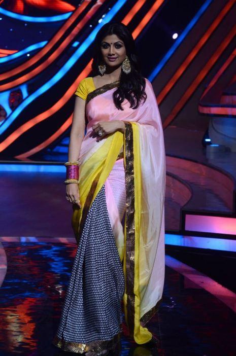 Judge Shilpa Shetty Kundra on Nach Baliye-5 set. Catch Nach Baliye-5 sat and sun @ 9pm on STAR Plus