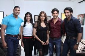 Bipasha Basu on Arjun set 2