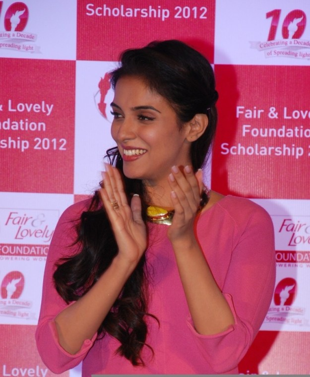 Brand Ambassador Asin at the Fair & Lovely Foundation 2012 Felicitation Ceremony in Mumbai, March 21st 2013