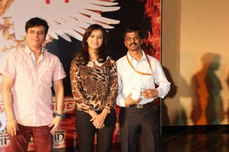 Sandeep Kulukarni and Pallavi Subhash were spot at Somaiya College Event to promote their upcoming film(1)