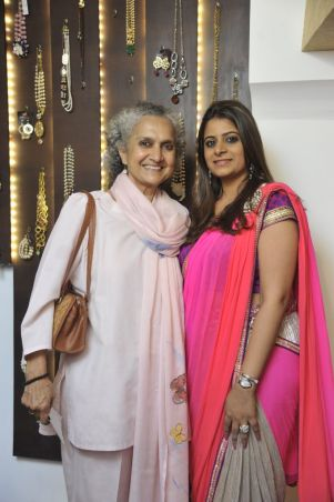 10-Salome Roy Kapoor with Designer Shouger Merchant Doshi@Zanaaya Couture Store Launch,Kemps Corner