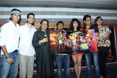 Movie Cast N Crew With Anup Jalota At Music Launch