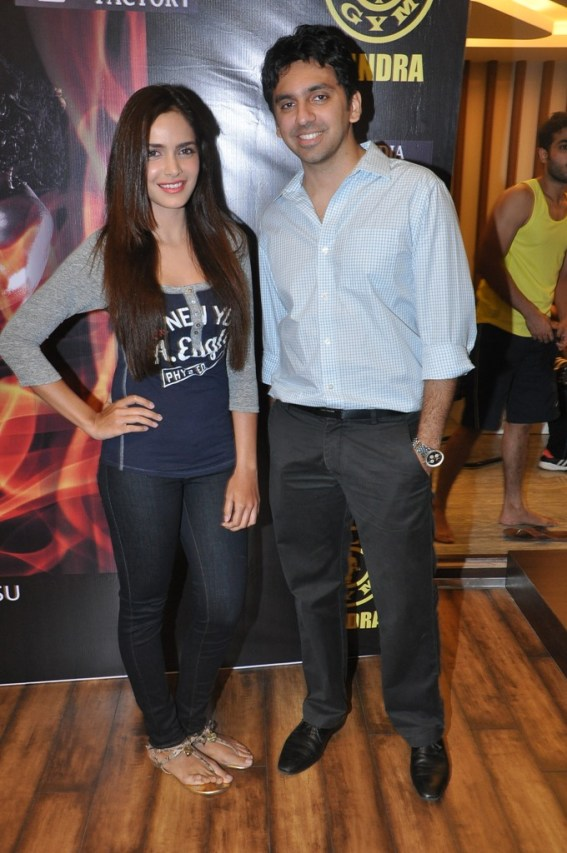 3. Shazahn Padamsee & Mr. Karan Valecha, Director Gold's Gym India