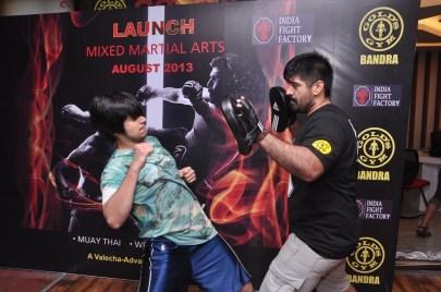 9. Vivaan Naseeruddin Shah @ Gold's Gym Bandra