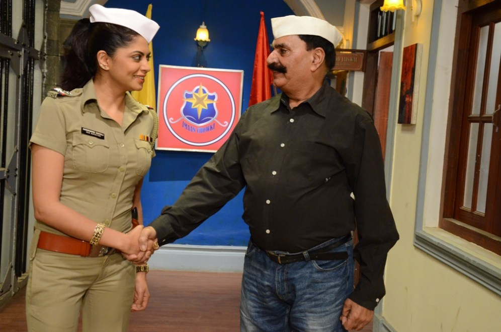 Chandramukhi Chautala(Kavita Kaushik) with her father, all geared up for SAB Ke Anokhe Awards