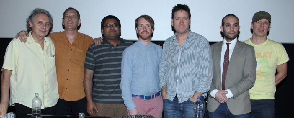 Achille Forler, Dee Wood, Jatanil Banerjee, Christian Wright, Jonathan Allen, Ilan Eshkeri and Andrew T. Mackay at 15th Mumbai Film Festival (4)