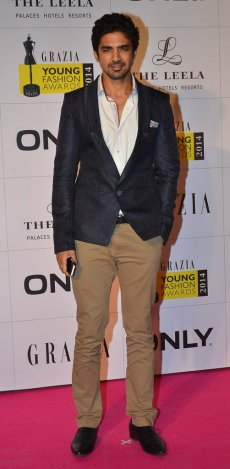 Celebrities walked the Red Carpet at the Grazia Young Fashion Awards 2014 at the Leela, Mumbai.9