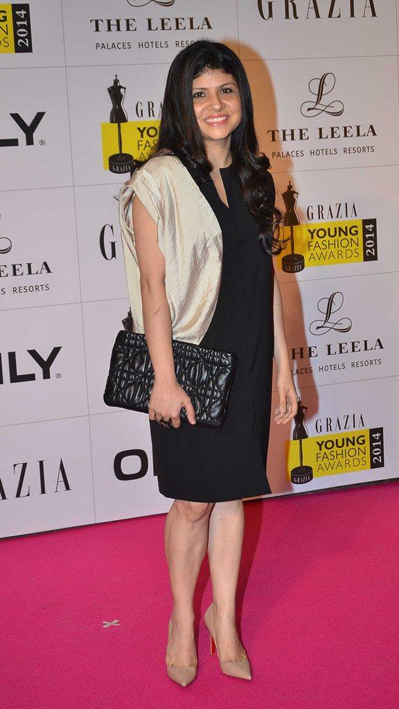 Mehernaaz (Editor, Grazia) at the Red Carpet of Grazia Young Fashion Awards 2014 at the Leela, Mumbai