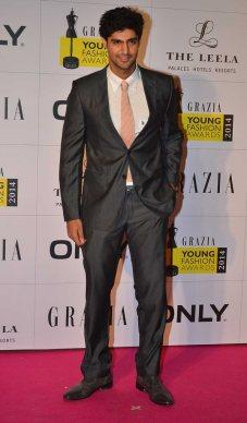 Tanuj Virwani at the Red Carpet of Grazia Young Fashion Awards 2014 at the Leela, Mumbai