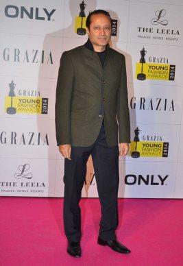 Vineet Jain (MD, Times Group) at the Red Carpet of Grazia Young Fashion Awards 2014 at the Leela, Mumbai
