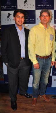 02 L-R Mr. Krishna Gupta, MD Lloyds Luxuries Ltd. and Atul Agnihotri @ Truefitt & Hill launch event