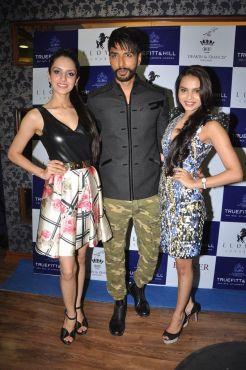 25 L-R Koyal Rana, Miss India World 2014, Prateek Jain, Mr. India 2014 and Gail Da Silva, Miss India United Continent 2014 @ Truefitt & Hill launch event