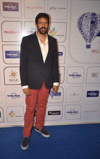 Kabir Khan at the Blue carpet of 'The Lonely Planet Magazine India Travel Awards 2014'